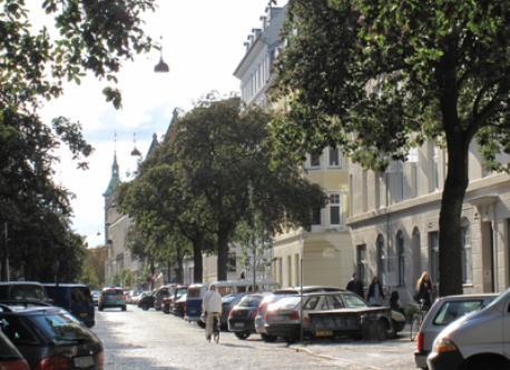 Willemoesgade around the corner
