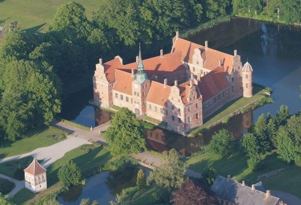 Rosenholm Castle in Hornslet