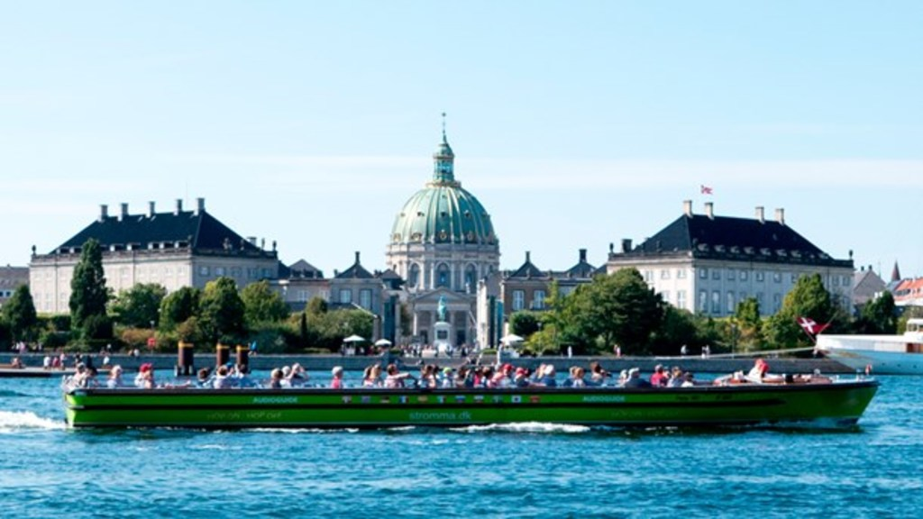 Canal tours, Copenhagen