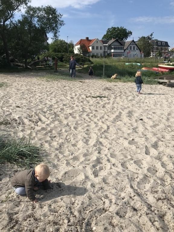 Snekkersten Beach (5 min walk)