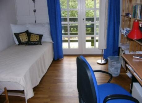 One of the spare rooms