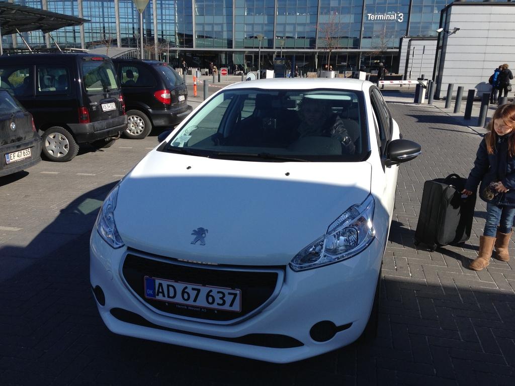 Our car Peugeot 208