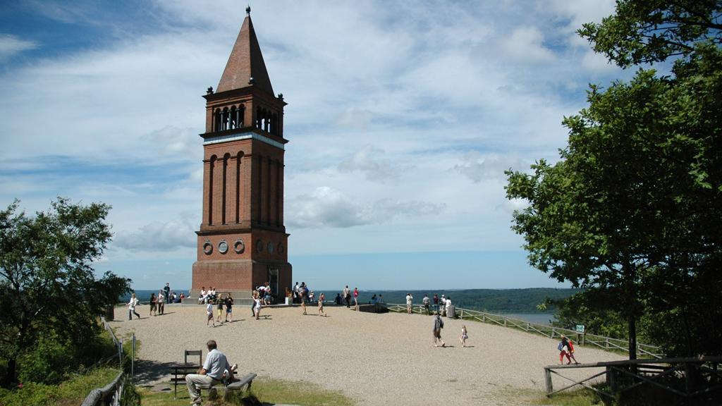 Himmelbjerget, a turist attraction just 30 min away.