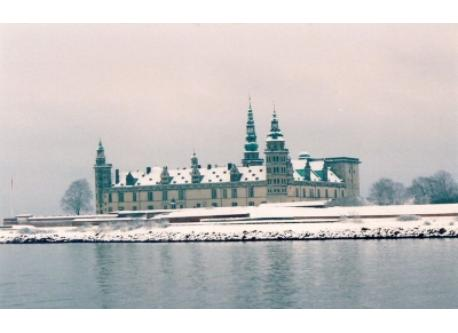 The castle Kronborg north of Copenhagen is a UNESCO World Heritage Center