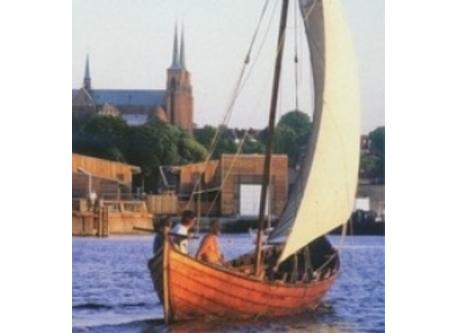 The old Kings town Roskilde is located 25 km noth-west of Koege