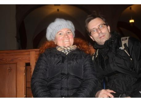 Tamara & Michael in Leipzig, 2012