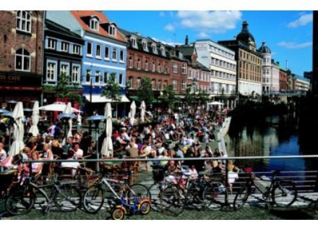 downtown Aarhus