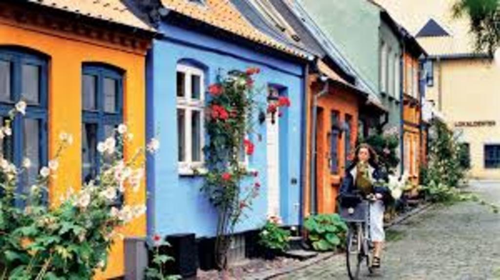 Street in downtown Aarhus