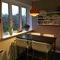 breakfast nook in kitchen