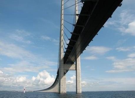 The bridge to Sweden