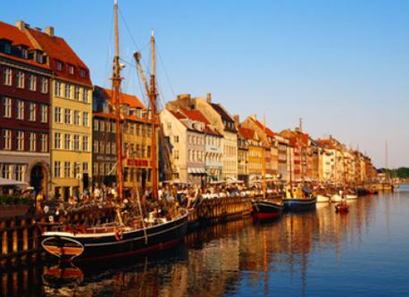 Nyhavn, the old harbour in town