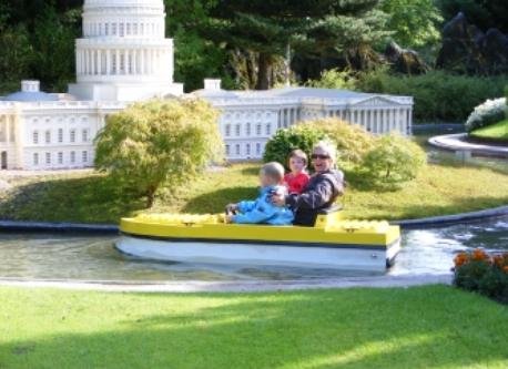 Us on a family trip to LEGOLAND 2½ hours from our home