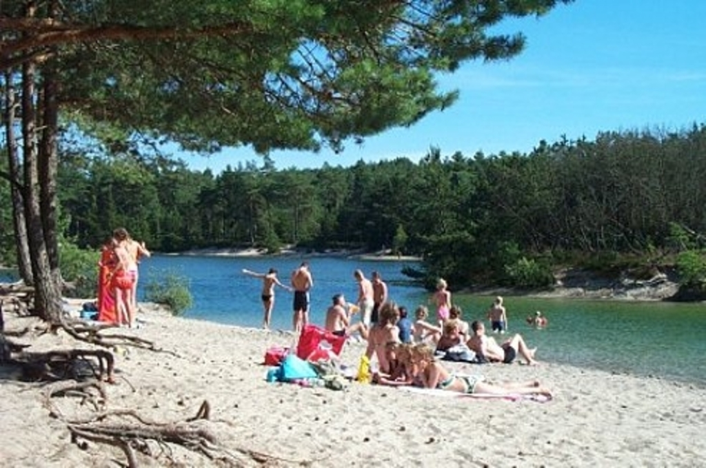 A beach for children, 5 km from our house in Silkeborg