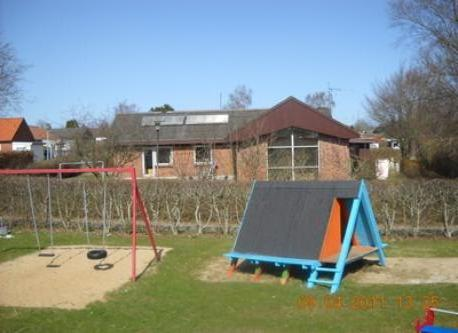 Playground and our house