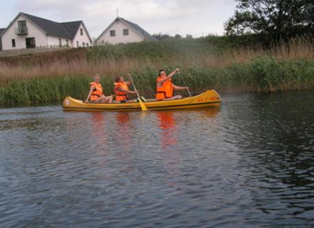 Canoe in Silkeborg lakes
