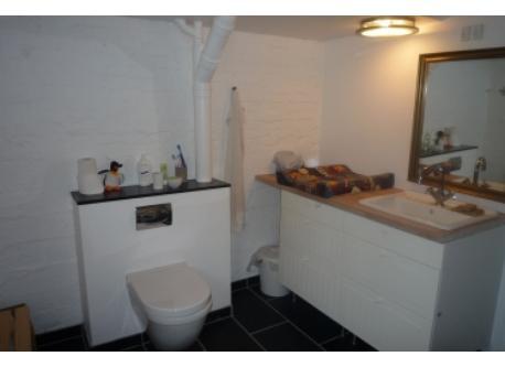 Bathroom in the basement