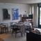 Dining room, living room