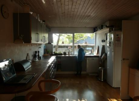 Kitchen with morning light