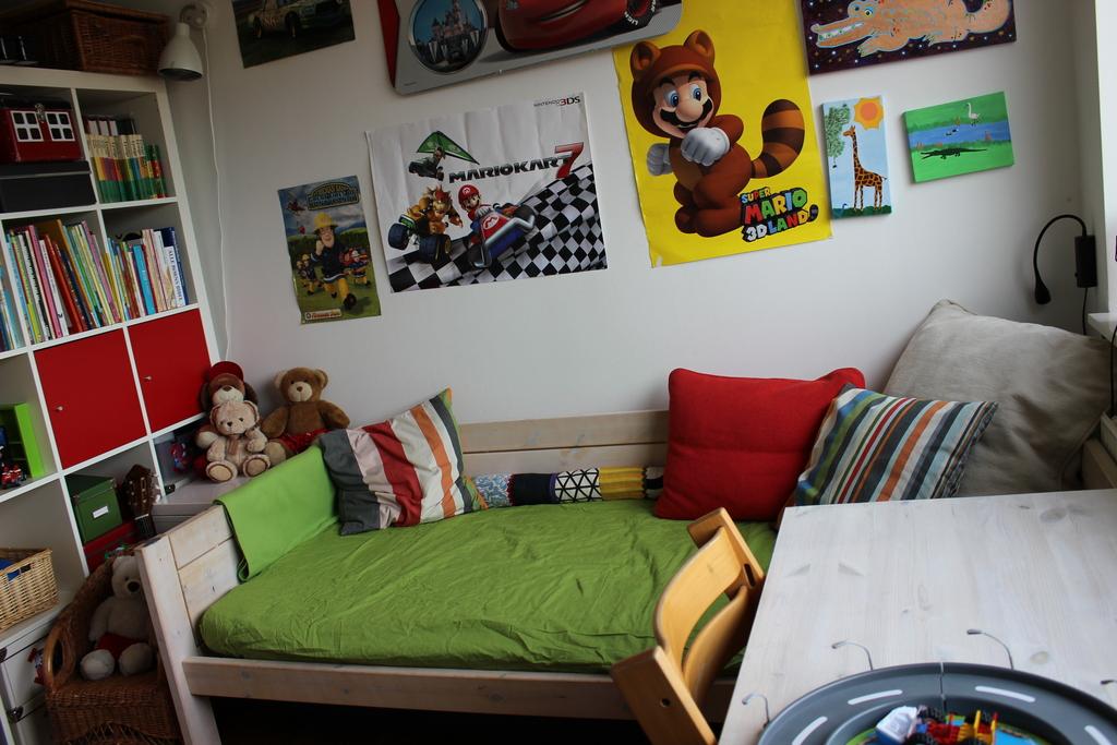 Nikolaj's room