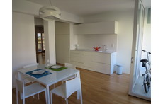 dining room / open kitchen / terrace