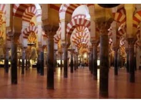 Mezquita inside