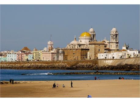 The Cathedral and the beach
