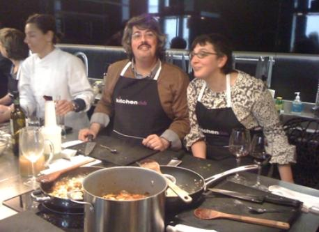 At a Cookery School. March 2012
