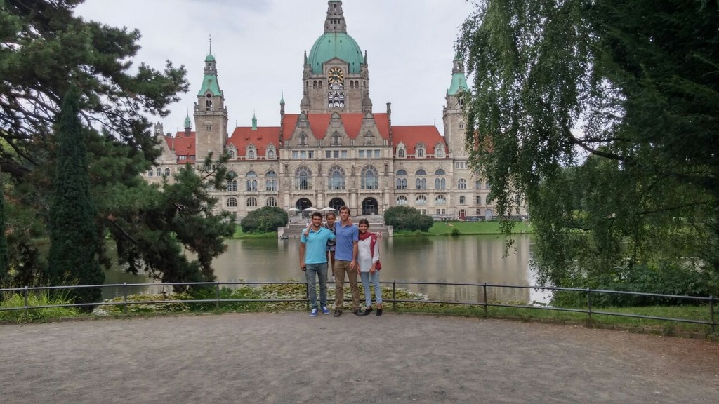 summer 2014 my family in Hannover