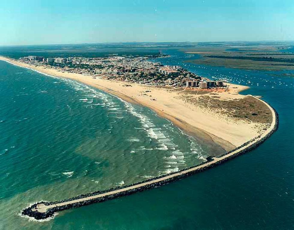 aerial view of Punta Umbría