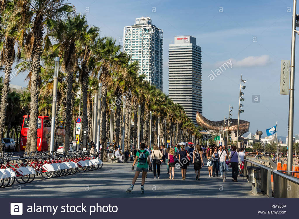 Waterfront of Barcelona (20 minuts by car) / Paseo Marítimo de Barcelona (20 minutos en coche)