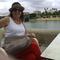 me , behind guadalquivir river