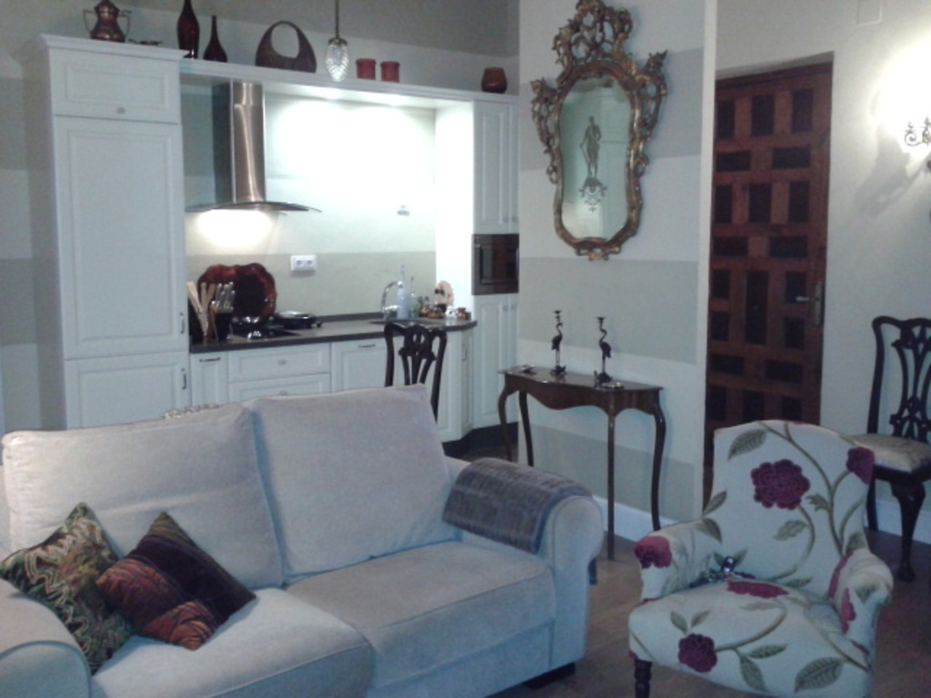 Sanlucar de Barrameda (cadiz) living room and kiychen office