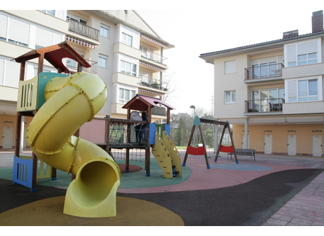 playground just below our home