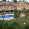 the swimmingpool in  the comunity area