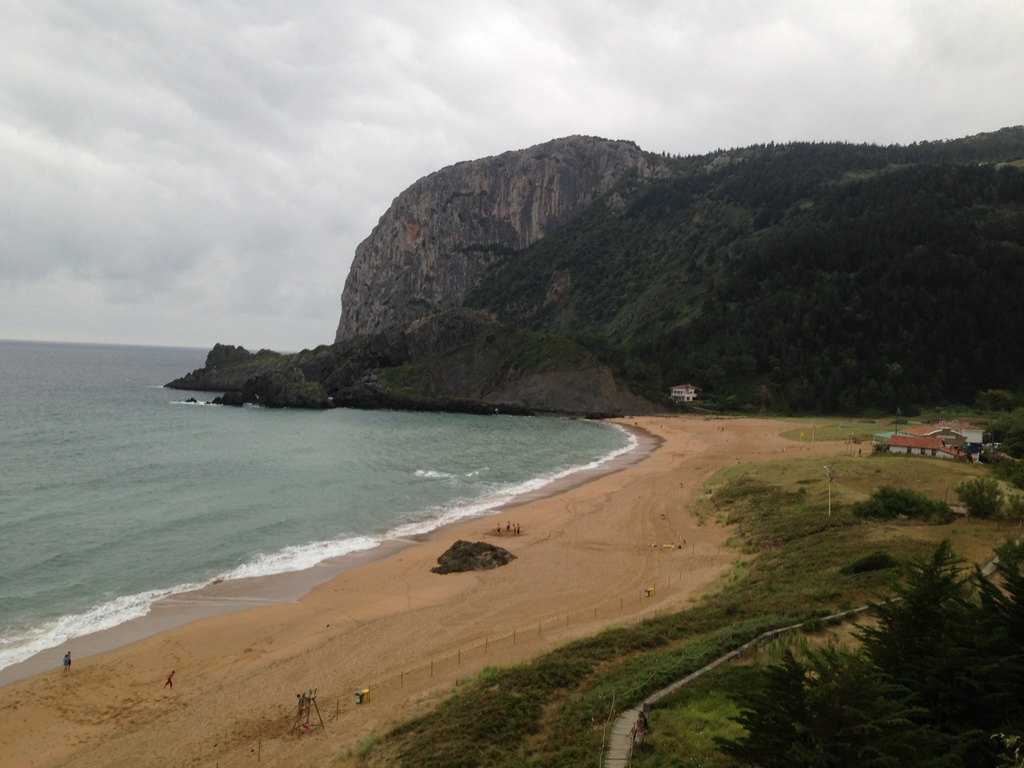 Laga's beach near Mundaka
