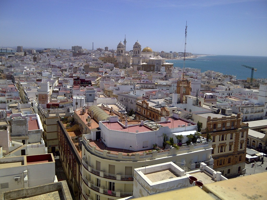 Cádiz city; 30 min.drive