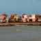 Vista de los apartamentos desde el mar