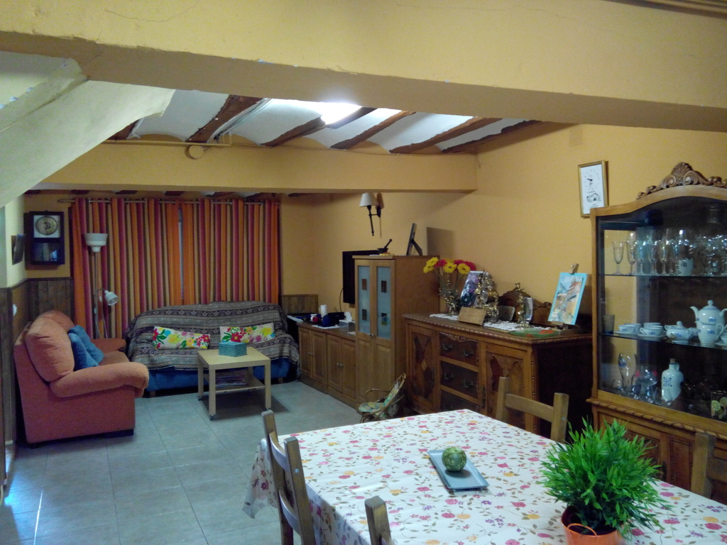 ground floor living and dining room