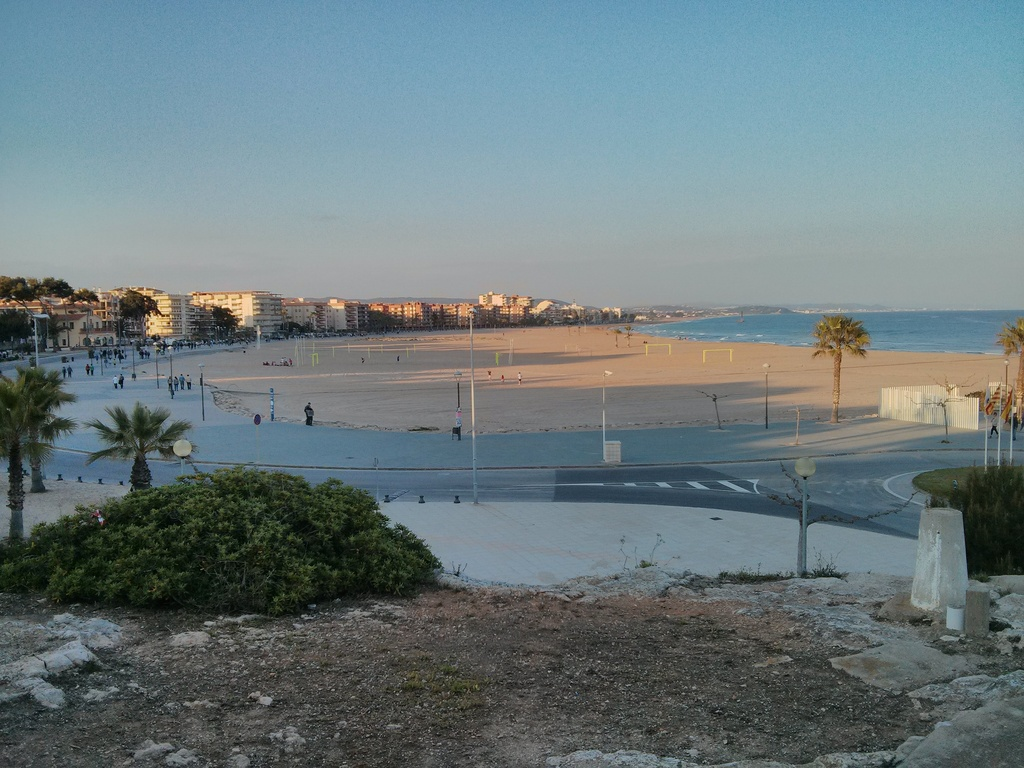 vista panoramica Torredembarra