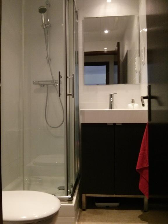 lavabo con ducha