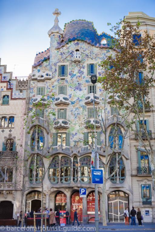 Barcelona , Casa Batlló