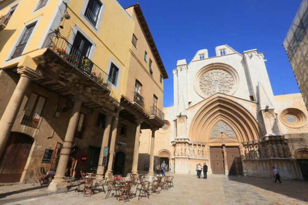 Tarragona, catedral (10min coche/tren)