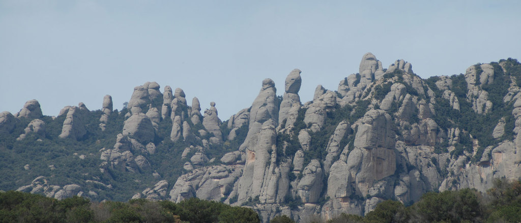 Montserrat mountains, located 30 minutes from home.