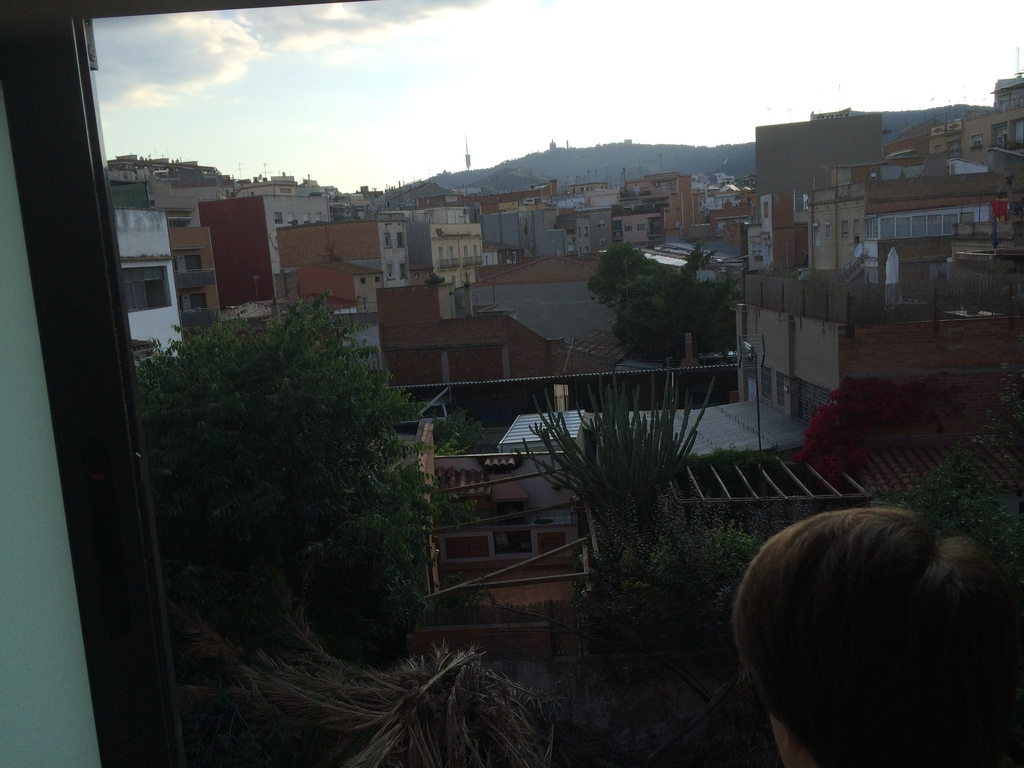 view from main bedroom-tibidabo/collserola