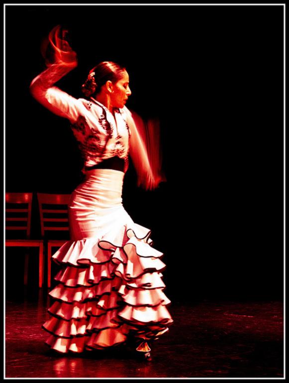 Baile flamenco en el Sacromonte