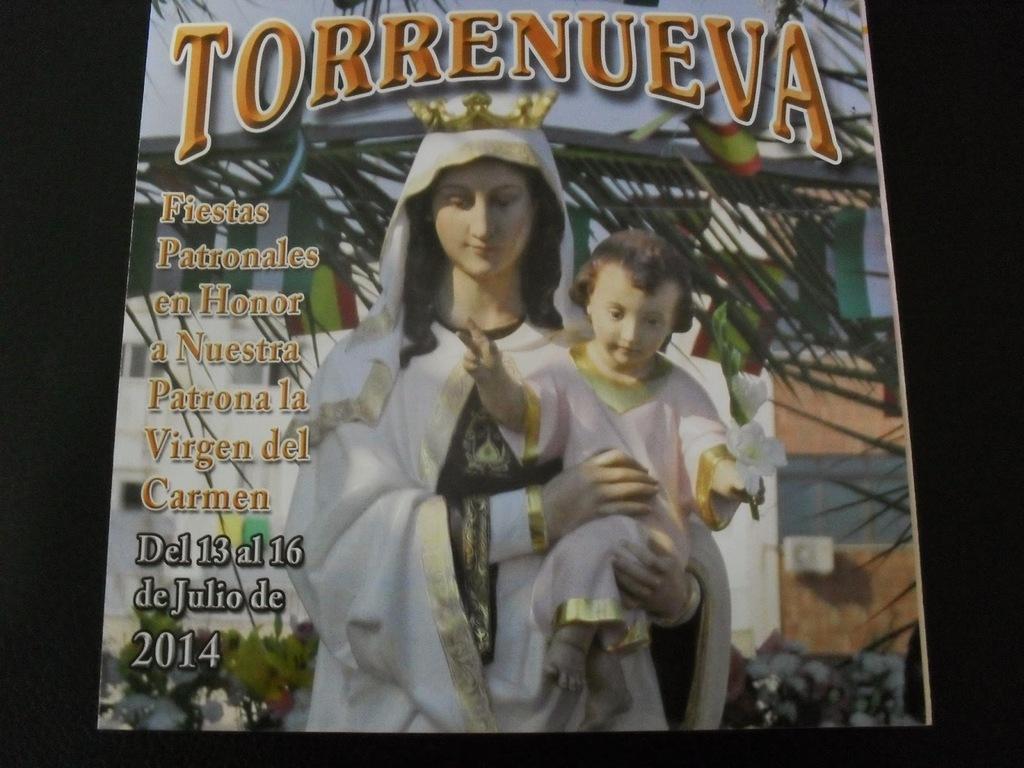 Cartel fiestas patronales de la Virgen del Carmen