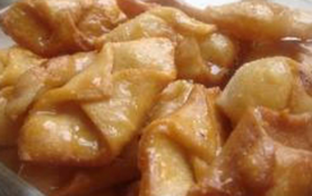 Pestiños dulce típico de Torrenueva