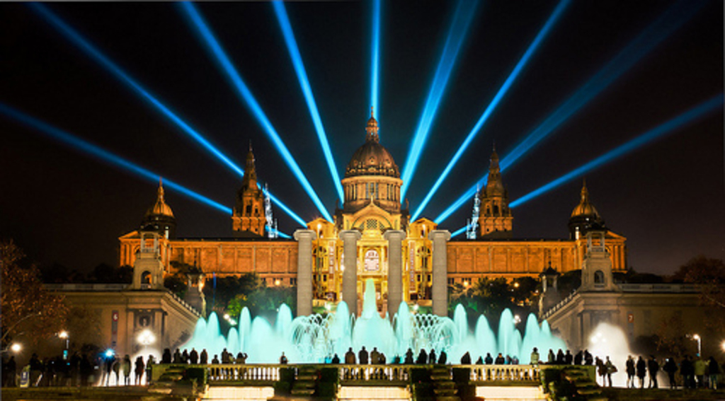 You must go to the Magic Fountain Barcelona