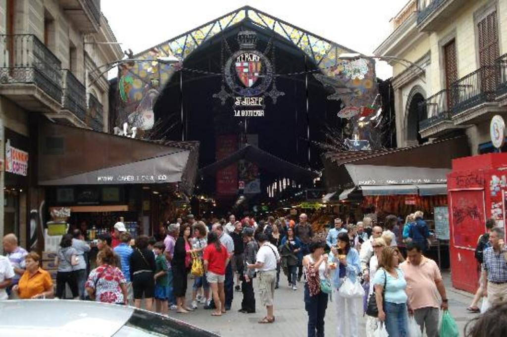 Best Market of Europe, La Boqueria Barcelona