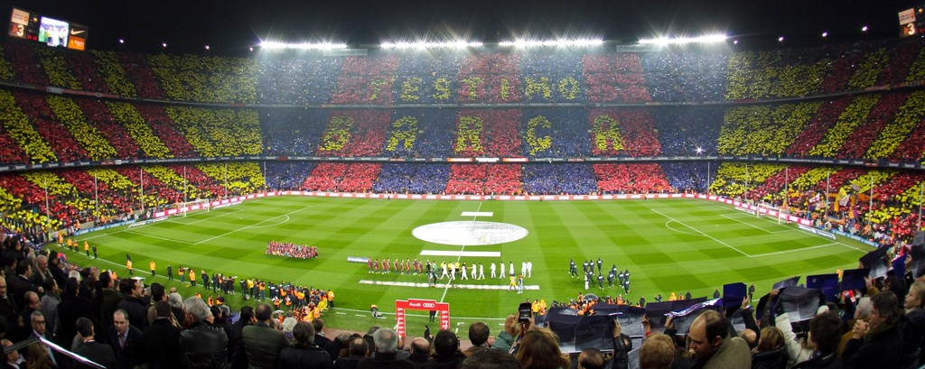 Visit Barcelona's Football Stadium Camp Nou